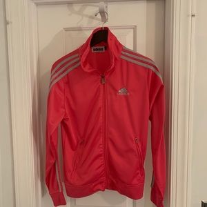 Adidas fleece lined zip up